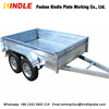 KINDLEPLATE Motorcycle Cargo Trailer with Tent Tyre Optional