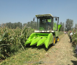 4YZ-3 mini corn maize combine harvester for sale