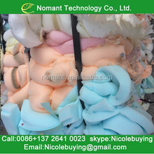 A Grade PU foam scrap vs polyurethane foam recycling