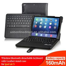 Wholesale price cover wireless blue tooth keyboard for ipad air 5