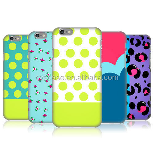fashionable dot design leopard pattern case for iphone 6 case mobile phone case