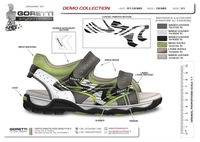 KIDS SHOE DESIGNER exclusive drawing and prototypes for your shoes