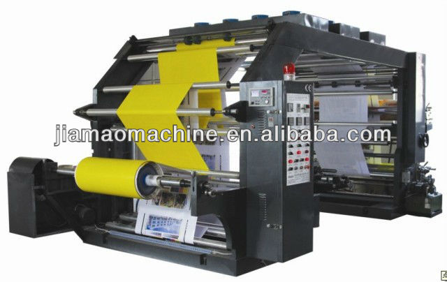 Non-woven fabric Printing Machine,four-Color PVC/PP film Flexo printer manufacturers / plastic film Letterpress Printing Machine