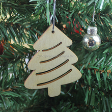 unpainted fashion wood christmas door decorations