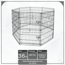 "36"" Folding Metal 8 Panels Dog Exercise Pen"