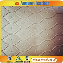 nonwoven backing technics and pvc material pvc synthetic leather for sofa upholstery T4588
