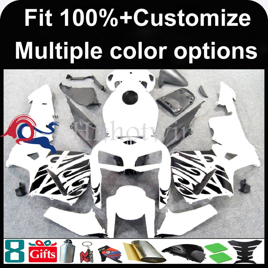 INJECTION MOLDING panels 2005 2006 CBR 600RR Fairings For HONDA white Fairings 05-06 - Fairing CBR 600 RR 600RR CBR600 CBR600RR