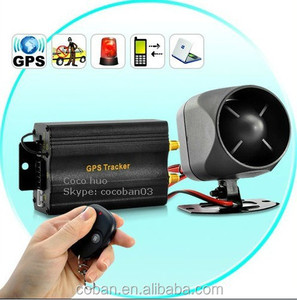 GPS tracker car tk103b tk 103b Rastreador localizador veicular with remote control gps Anti theft