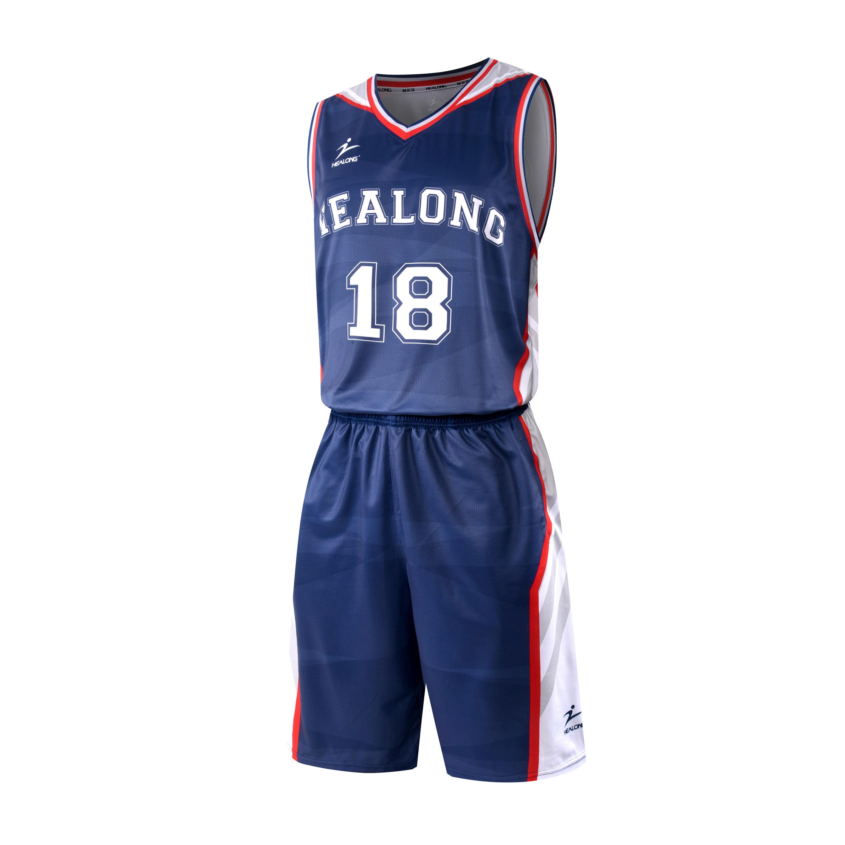 45d015383c4d Healong Custom Sublimation Blank Violet Basketball Jersey Uniform Design  Color Blue
