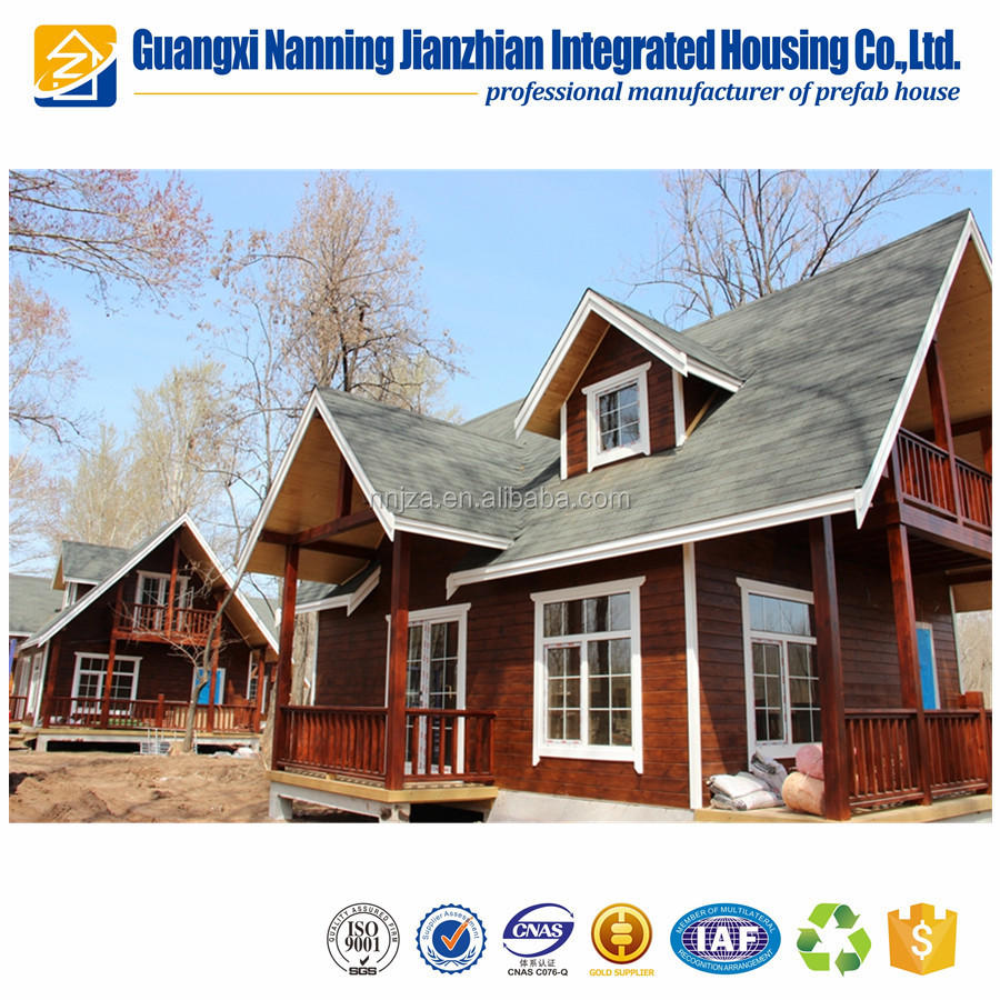 Low Cost Prefabricated Timber Panel House Prefab House