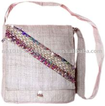 100% hemp shoulder bags/fashionable hemp bags/hemp bags in new model