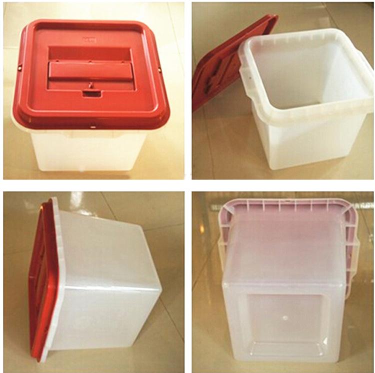 OBOOC Plastic Ballot Box/Plastic Corrugated Box/Transparent Election Box