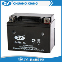 Motor Start Battery 12V 4Ah Rechargeable Battery For Motorcycle