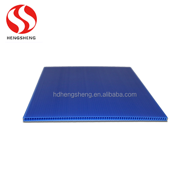 PP corrugated plastic sheet for floor covering floor protection plastic sheet