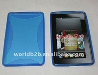 TPU Skin Cover Case for kindle fire