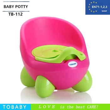 Best selling functional baby potty PP plastic potty training toilet seat for kids