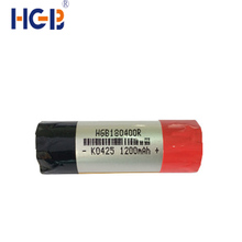 large capacity E-cigarette cylindrical batteries 1200mah 18400