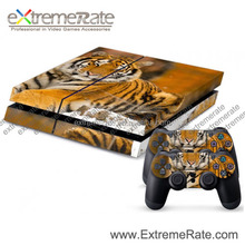 Wholesale Original Sticker For PS4 Console Sticker + 2 New Controller Decal Skin