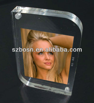 A6 size acrylic photo frame;Mini acrylic picture frame;