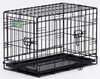 China factory folding modular metal dog cage with metal plastic tray