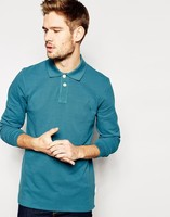 Fashion Design Wholesale Custom Long Sleeve T Shirt High Quality Long Sleeve Polo T Shirt For Men Cheap China Wholesale Clothing