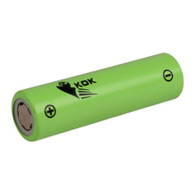 KOK POWER High Discharge 3C 18650 Li ion Battery Cell 2600mah 3.7v Rechargeable Battery