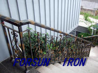 Outdoor Decorative Iron Casting Railing/Guardrail /Fencing