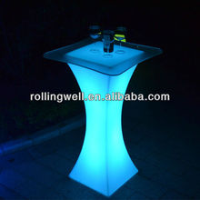 shenzhen event rental commercial acrylic LED bar table sale