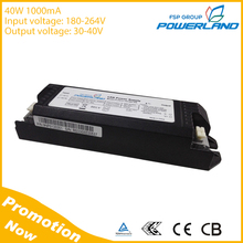 40W 1000mA Constant Current Led Driver With CE TUV ENCE Certificate