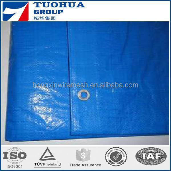 100% virgin HDPE with grey color 180g/m2 pe/pvc tarpaulin china manufacture