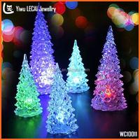 Chrismas Trees Decoration, Acrylic Led Lighting Trees , Unique Chrismas Gift
