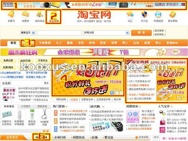 How to buy on taobao paipai 360buy and other online website?