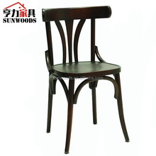 Top 1 Birch Wood Side Bent Wood Antique Wood Chair