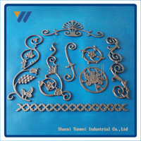 Customized Best Selling Prime Quality House Iron Gate Designs And Decorations Wrought Iron Gate