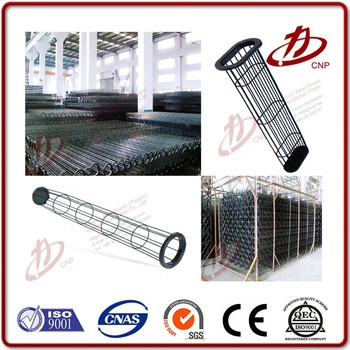 Dust collection bag filter cage