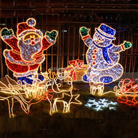 life size commercial wholesale christmas decorations outdoor made in china
