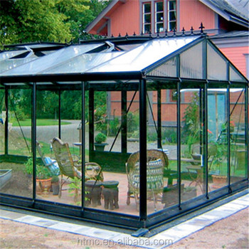 Superior prefabricated aluminum glass house reasonable for Prefab glass house prices