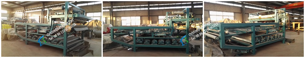 Hot sale belt filter press for waste water sludge dewatering