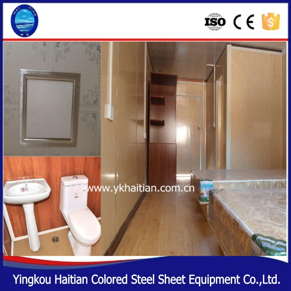 Mobile Home Cabin Expandable Steel structure  Fabricated Eready Made villa furnitures simple glass tiny wooden houses