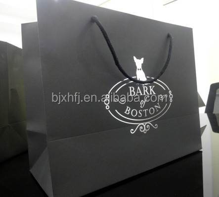 promotional unique cheap china cute gift paper bag with logo