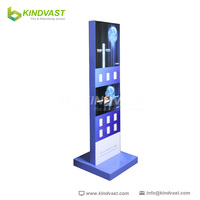 Cardboard POP display standees for advertising and promotion