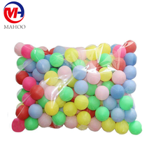multicolour Plastic bulk packed ping pong ball