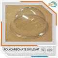 plastic outdoor skylight round shape clear dome cover