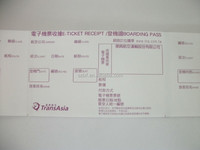 OEM pre-printed airline boarding pass tickets