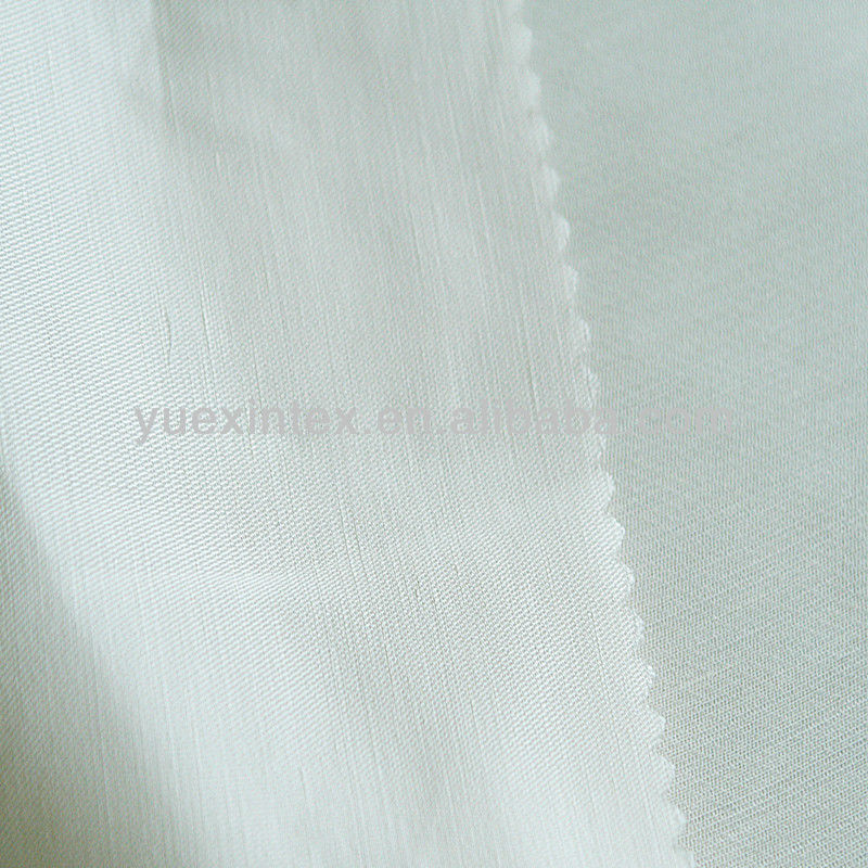 33% viscose 32% linen 35% rayon fabric for garment material