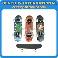 Skate Board in wood and plywood material with PU or PVC wheel with protector