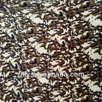100% polyester printed camouflage flannel fabric