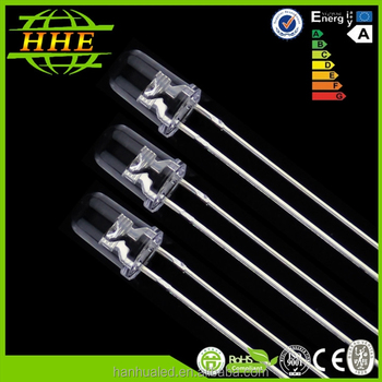 best selling 5mm round Blue led diode with high brightness
