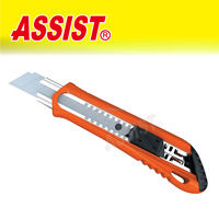 18MM ABS Plastic Twist Lock Safety Survival Paper Cutter Utility Knife