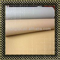 Furniture pvc leather for car seat fabric